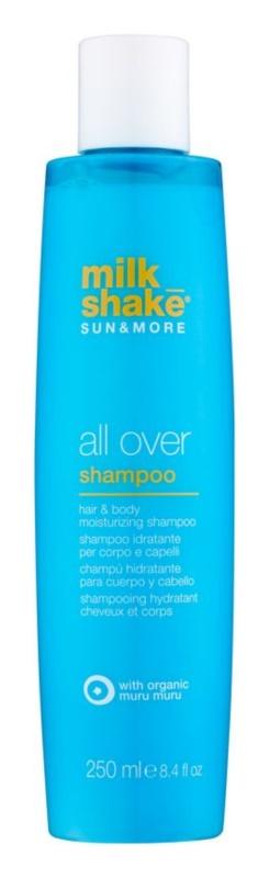 Milk Shake Sun & More hydratisierendes Shampoo für Haar und Körper