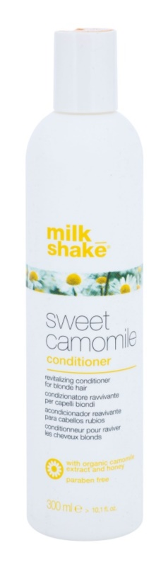 Milk Shake Sweet Camomile подхранващ балсам за руса коса