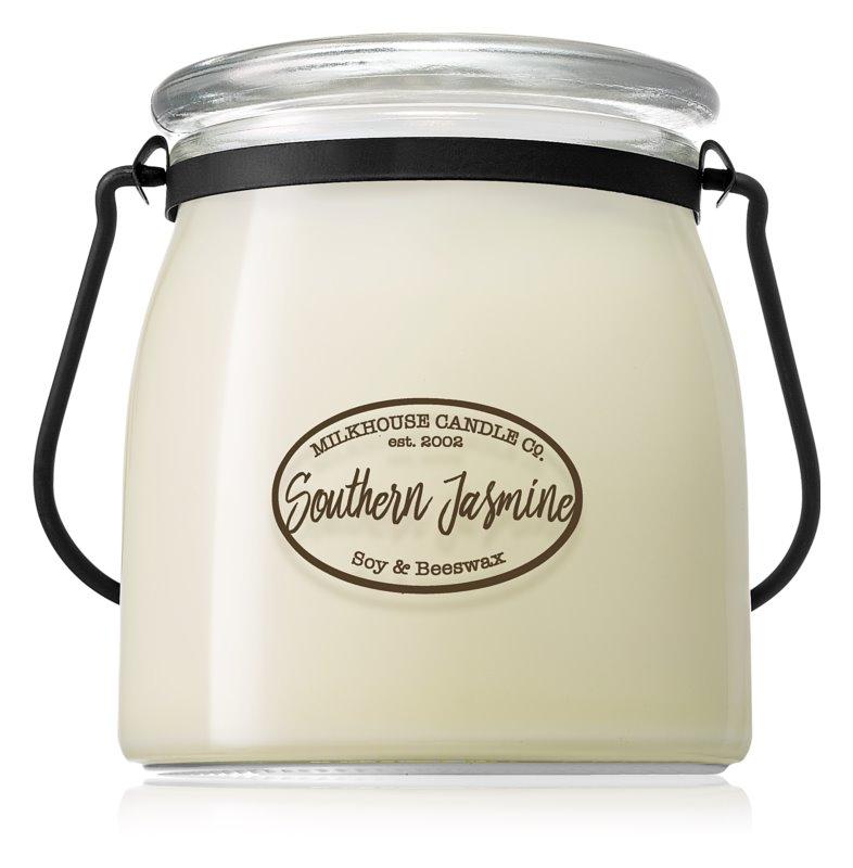 Milkhouse Candle Co. Creamery Southern Jasmine vonná svíčka 454 g Butter Jar