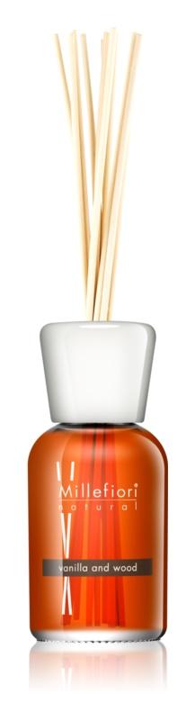 Millefiori Natural Vanilla and Wood diffusore di aromi con ricarica 500 ml