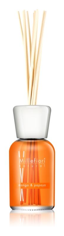 Millefiori Natural Mango & Papaya dyfuzor zapachowy z napełnieniem 500 ml