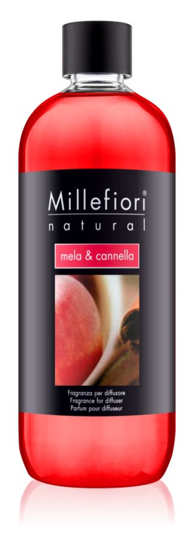 Millefiori Natural Mela & Cannella reumplere în aroma difuzoarelor 500 ml