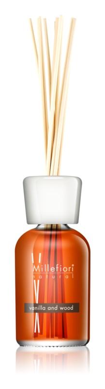 Millefiori Natural Vanilla and Wood Aroma Diffuser With Refill 250 ml