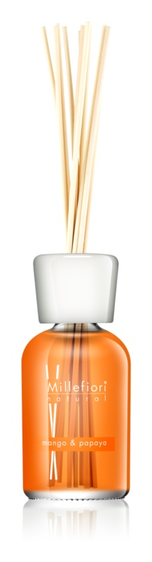 Millefiori Natural Mango & Papaya aroma diffúzor töltelékkel 250 ml