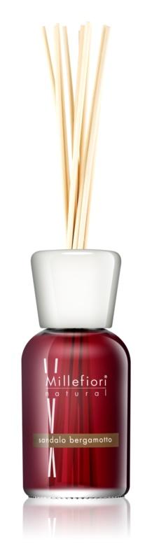 Millefiori Natural Sandalo Bergamotto diffuseur d'huiles essentielles avec recharge 500 ml