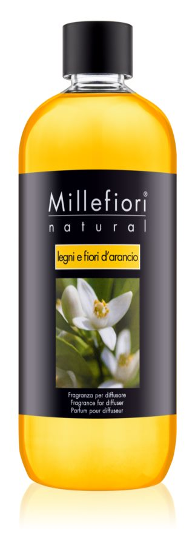 Millefiori Natural Legni e Fiori d'Arancio náplň do aroma difuzérů 500 ml