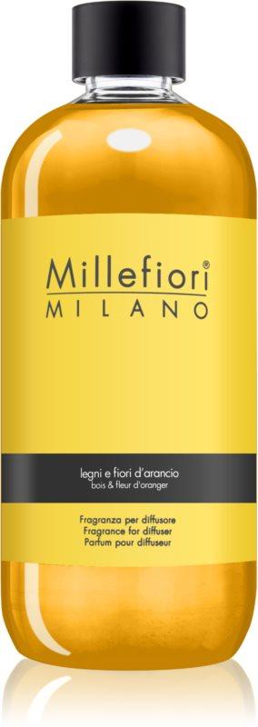 Millefiori Natural Legni e Fiori d'Arancio reumplere în aroma difuzoarelor 500 ml