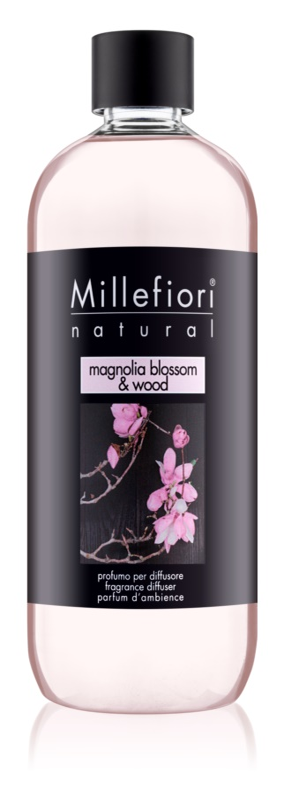 Millefiori Natural Magnolia Blosoom & Wood náplň do aroma difuzérů 500 ml
