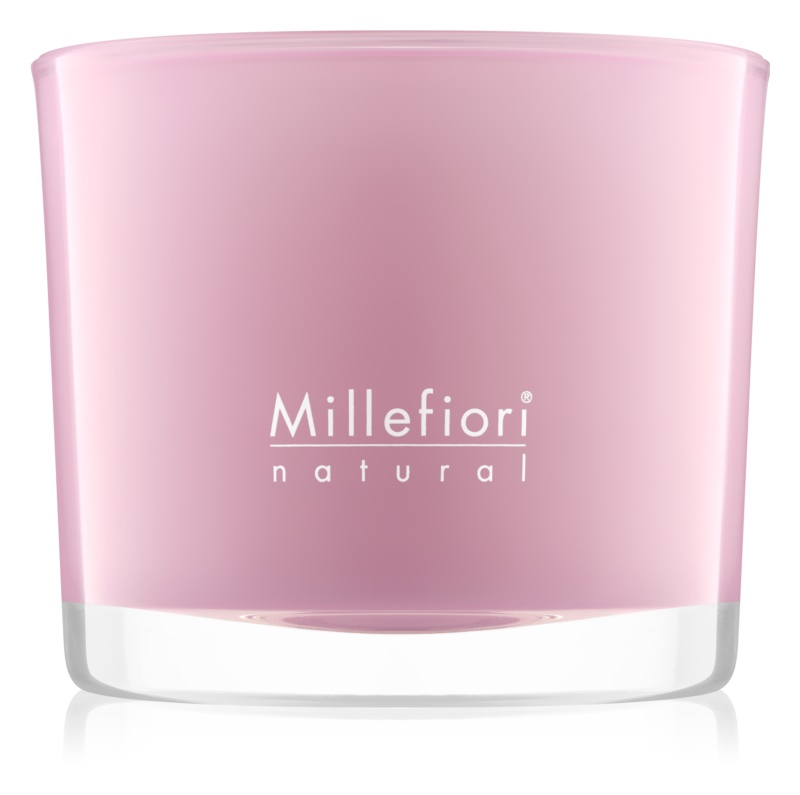 Millefiori Natural Magnolia Blosoom & Wood Scented Candle 180 g