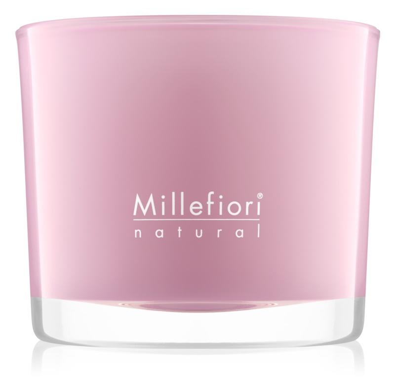 Millefiori Natural Magnolia Blosoom & Wood vonná sviečka 180 g