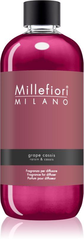 Millefiori Natural Grape Cassis recharge pour diffuseur d'huiles essentielles 500 ml