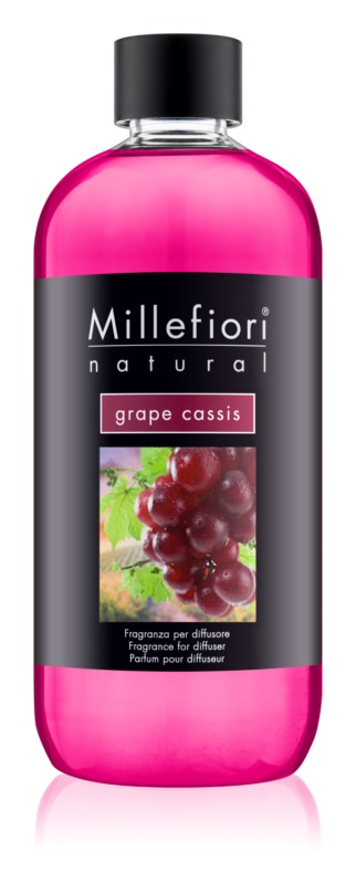 Millefiori Natural Grape Cassis ricarica per diffusori di aromi 500 ml