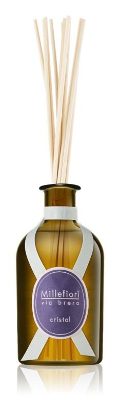Millefiori Via Brera Cristal aroma Diffuser met navulling 100 ml