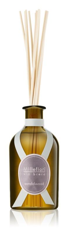 Millefiori Via Brera Sandalwood Aroma Diffuser With Filling 250 ml
