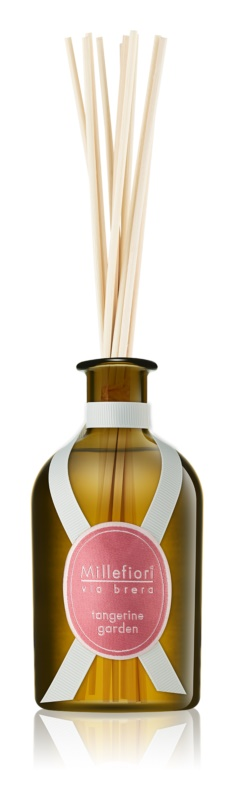 Millefiori Via Brera Tangerine Garden Aroma Diffuser met vulling 250 ml
