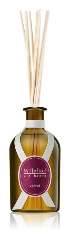 Millefiori Via Brera Velvet dyfuzor zapachowy z napełnieniem 250 ml