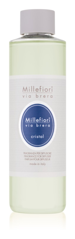 Millefiori Via Brera Cristal aroma diffúzor töltelék 250 ml