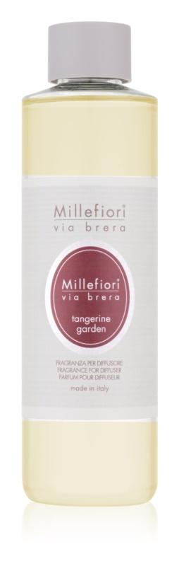 Millefiori Via Brera Tangerine Garden náplň do aroma difuzérů 250 ml