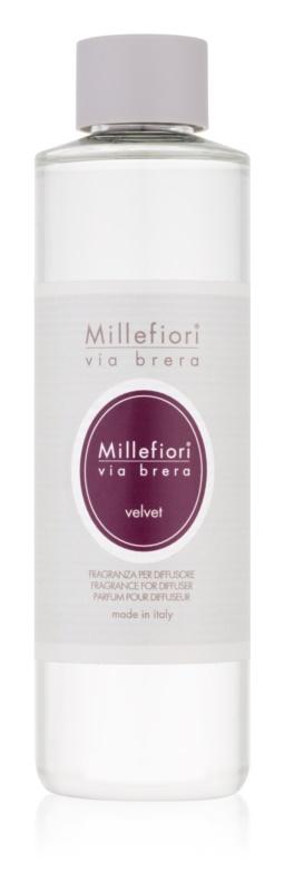 Millefiori Via Brera Velvet ricarica per diffusori di aromi 250 ml