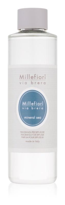 Millefiori Via Brera Mineral Sea reumplere în aroma difuzoarelor 250 ml