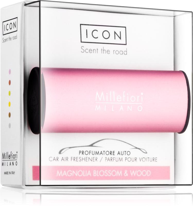 Millefiori Icon Magnolia Blossom & Wood parfum pentru masina   Classic