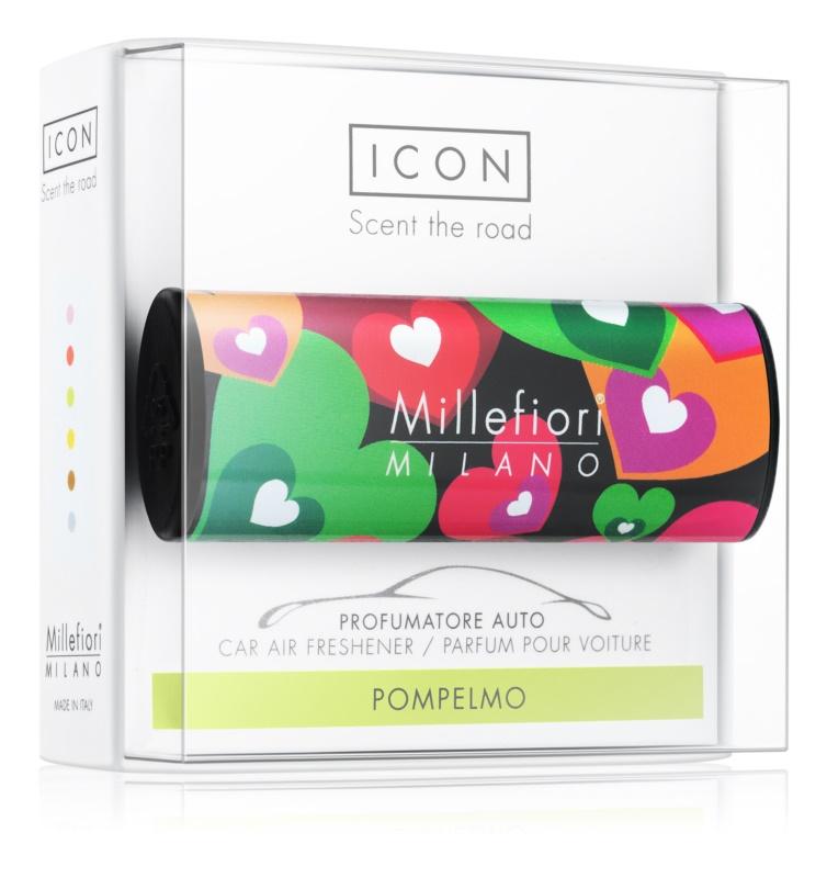 Millefiori Icon Pompelmo vůně do auta   Cuori & Fuori