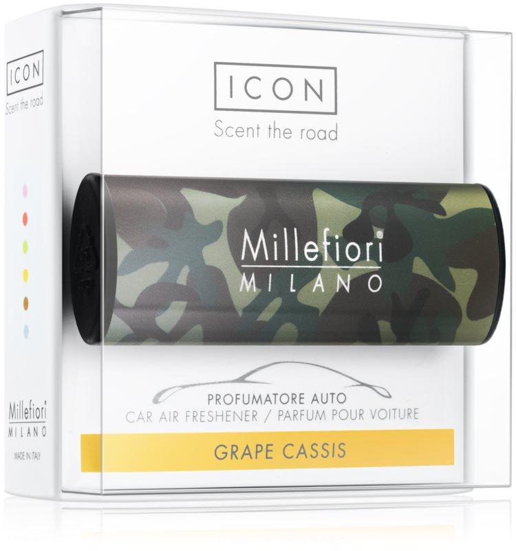Millefiori Icon Grape Cassis deodorante per auto   Animalier