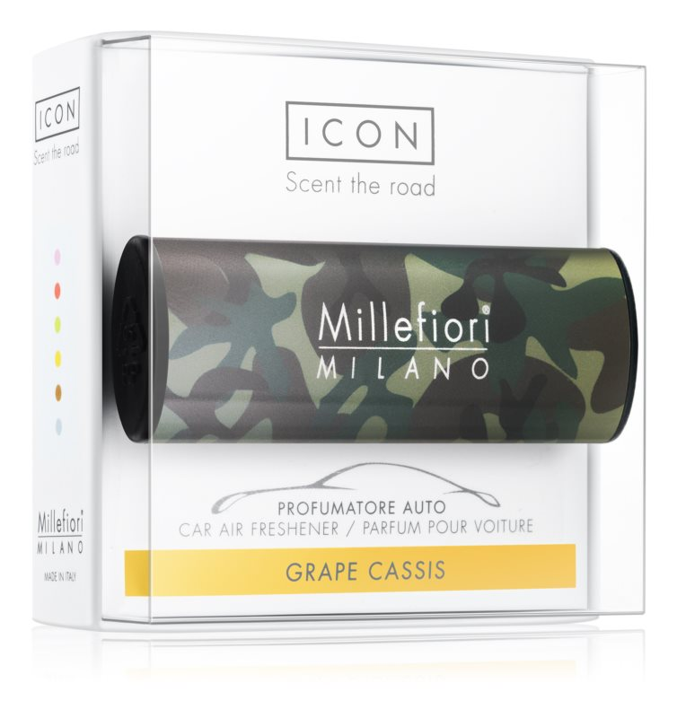 Millefiori Icon Grape Cassis mirisi za auto   Animalier