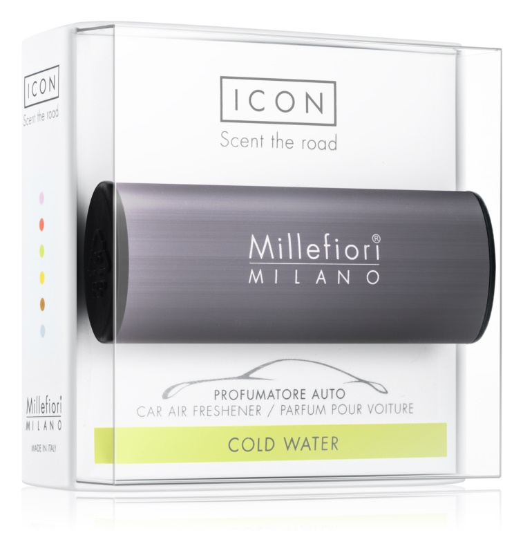 Millefiori Icon Cold Water Auto luchtverfrisser    Classic