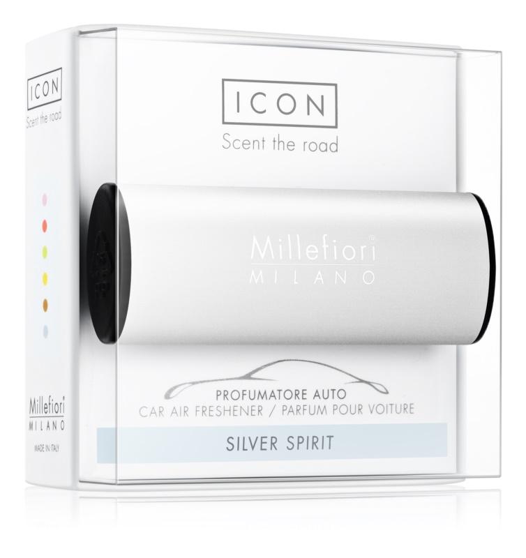 Millefiori Icon Silver Spirit odświeżacz do samochodu   Classic