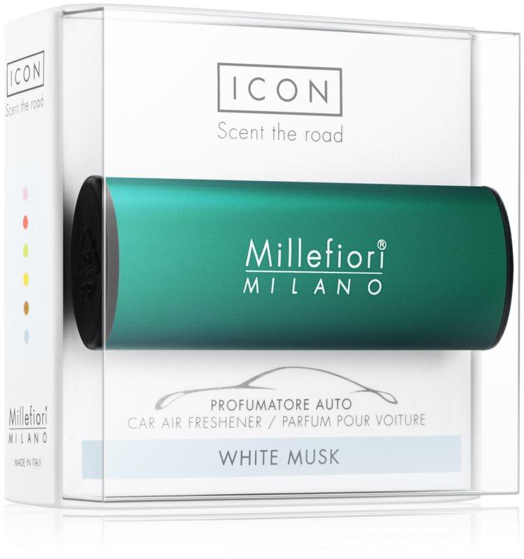 Millefiori Icon White Musk aроматизатор за автомобил   Classic