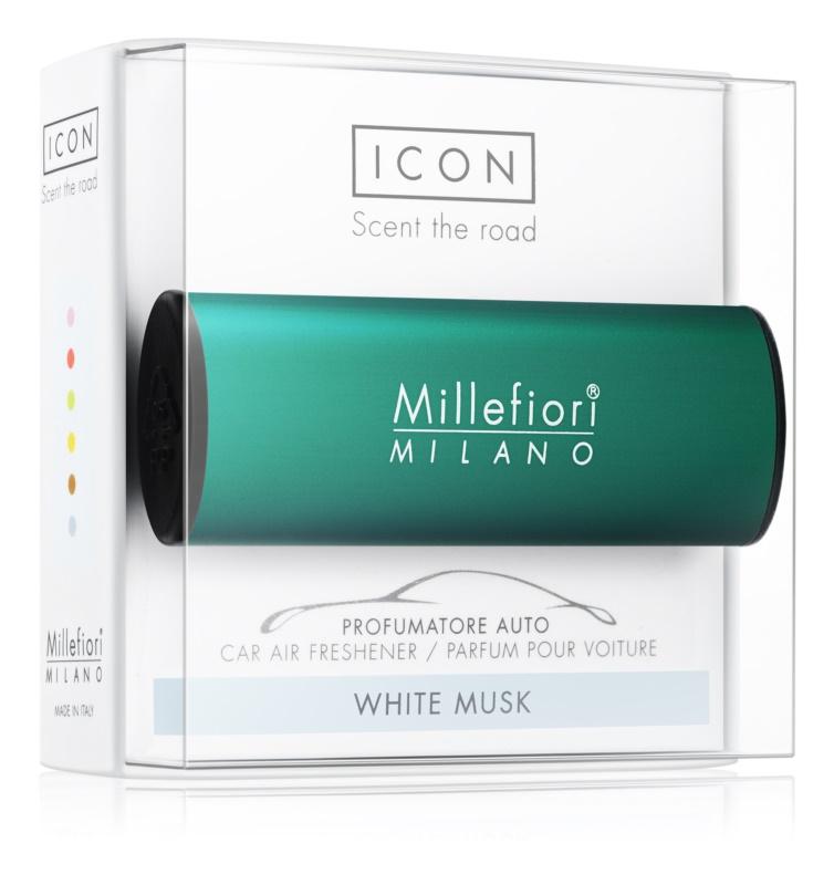 Millefiori Icon White Musk parfum pentru masina   Classic