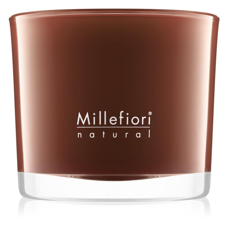 Millefiori Natural Vanilla and Wood lumânare parfumată  180 g