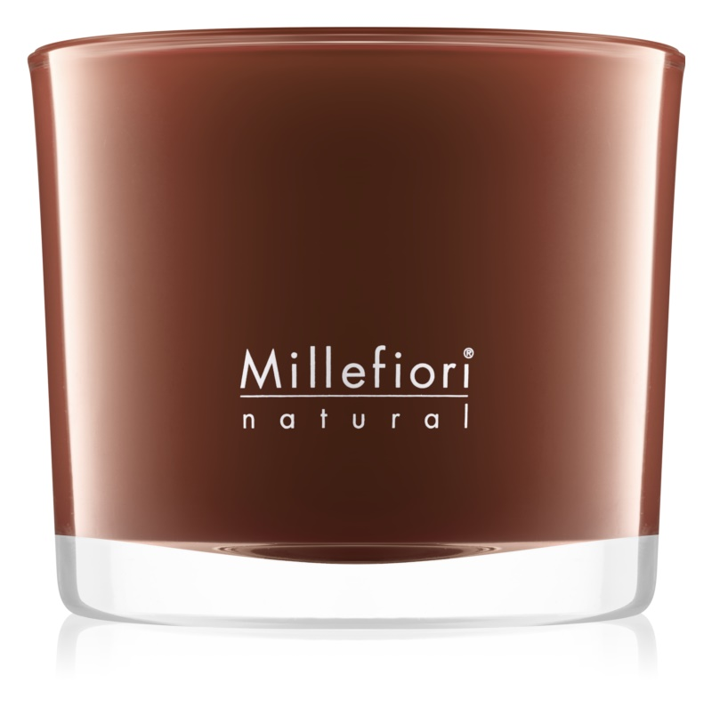 Millefiori Natural Vanilla and Wood Scented Candle 180 g