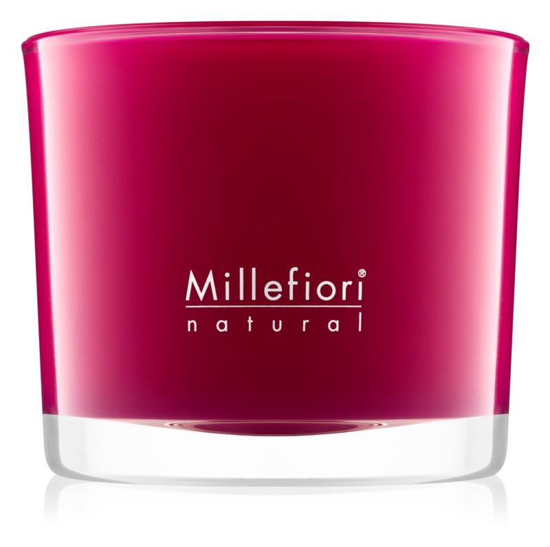 Millefiori Natural Grape Cassis vonná svíčka 180 g