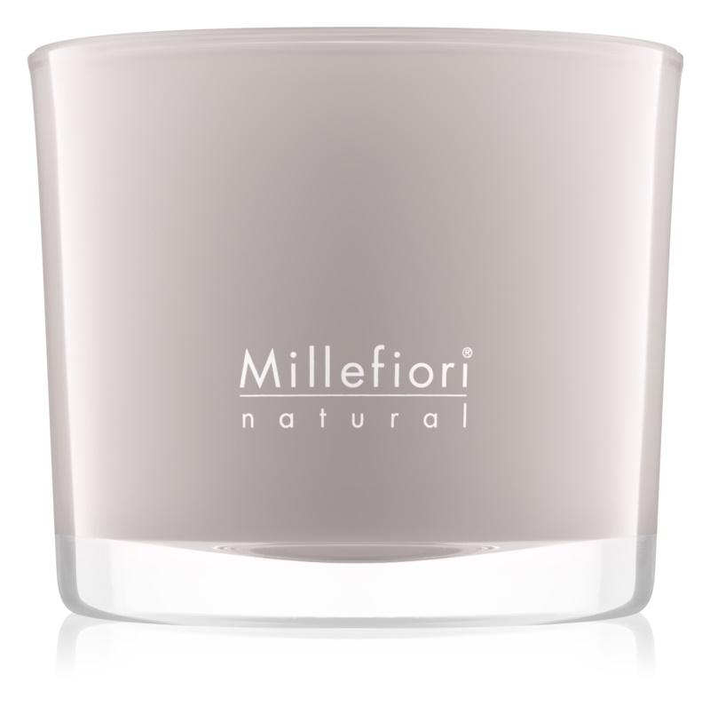 Millefiori Natural White Musk świeczka zapachowa  180 g