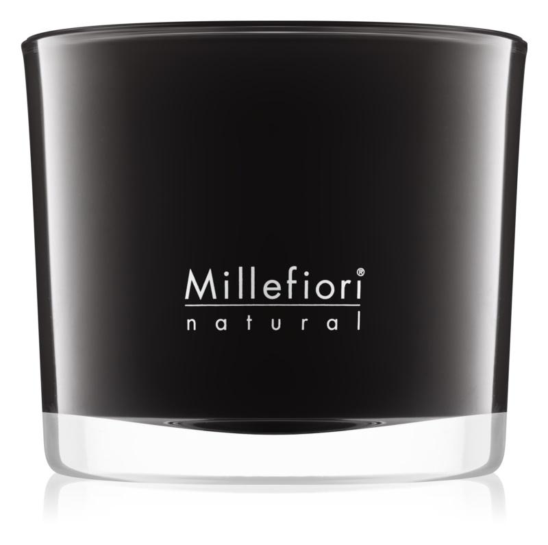 Millefiori Natural Nero candela profumata 180 g