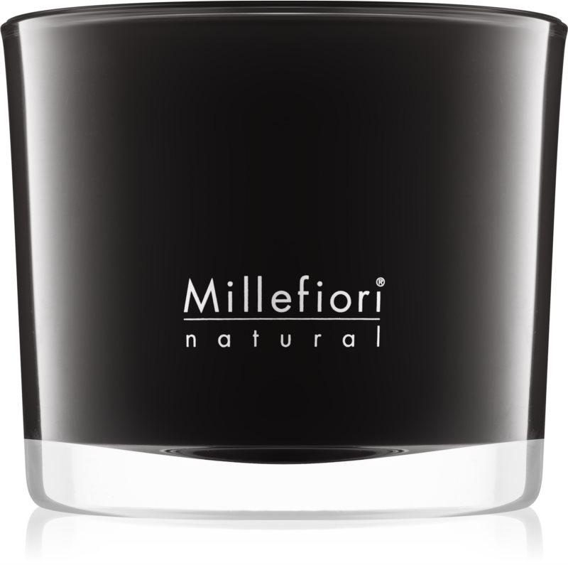 Millefiori Natural Nero vonná sviečka 180 g