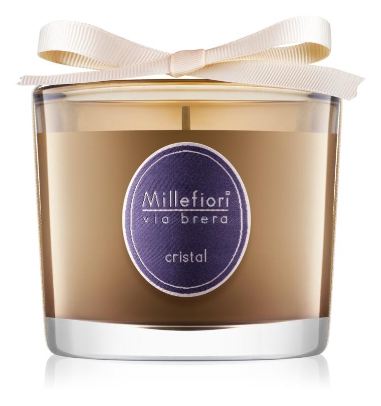 Millefiori Via Brera Cristal Scented Candle 180 g