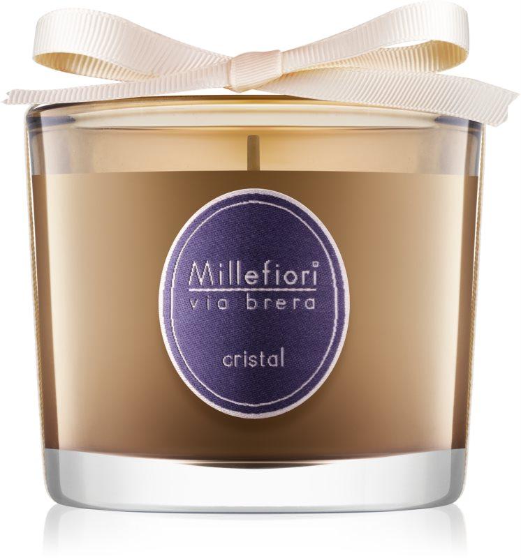 Millefiori Via Brera Cristal vonná svíčka 180 g