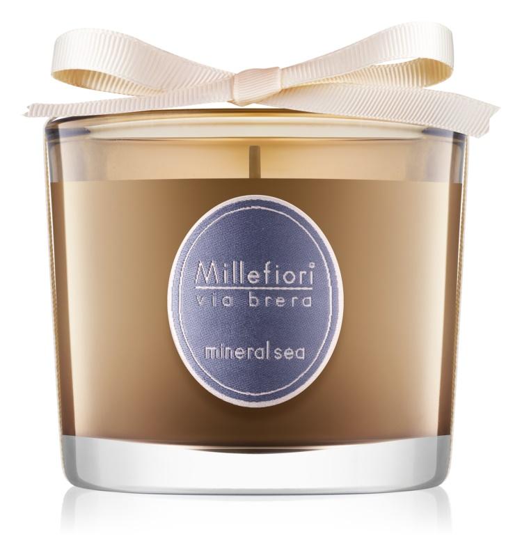 Millefiori Via Brera Mineral Sea Geurkaars 180 gr