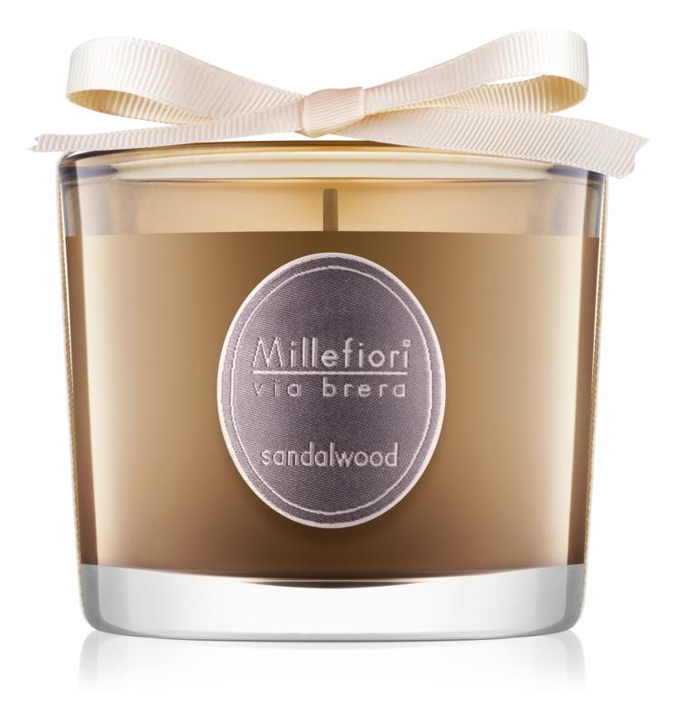 Millefiori Via Brera Sandalwood illatos gyertya  180 g