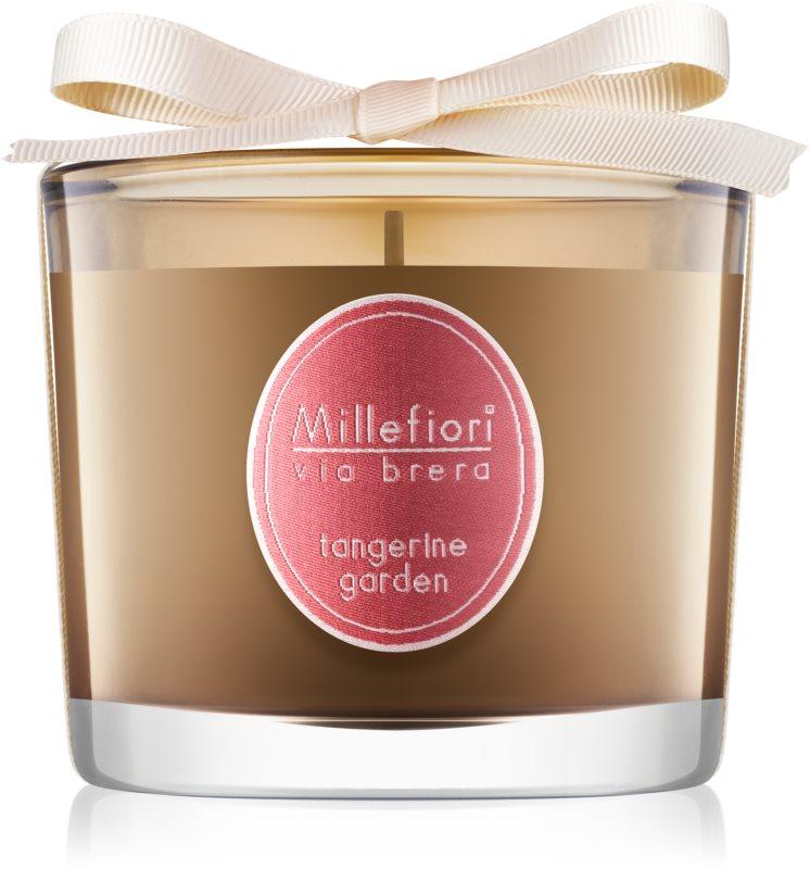 Millefiori Via Brera Tangerine Garden świeczka zapachowa  180 g