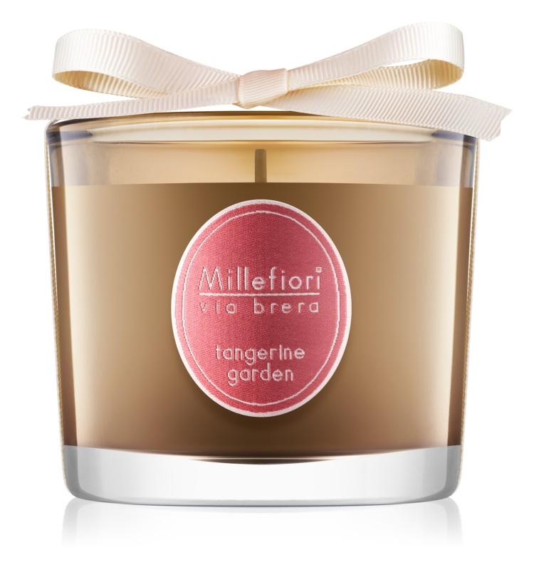 Millefiori Via Brera Tangerine Garden vonná svíčka 180 g