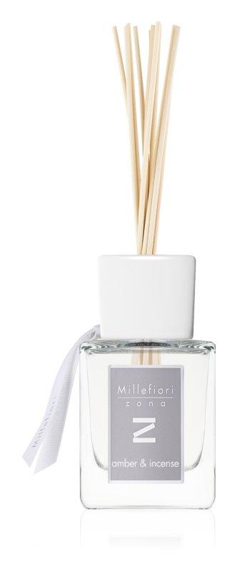 Millefiori Zona Amber & Incense Aroma Diffuser With Filling 100 ml