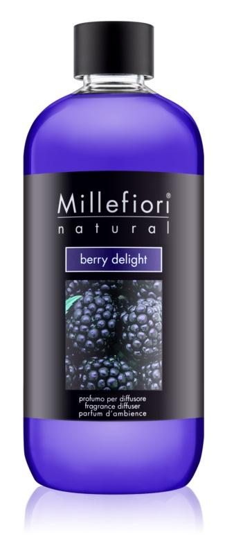 Millefiori Natural Berry Delight náplň do aroma difuzérů 500 ml