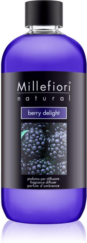 Millefiori Natural Berry Delight reumplere în aroma difuzoarelor 500 ml