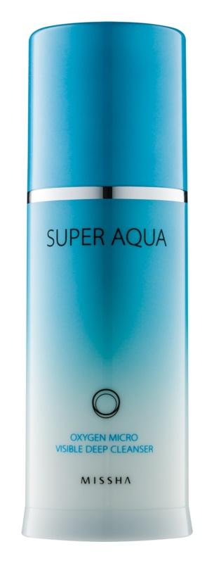 Missha Super Aqua Oxygen čistiaca emulzia s okysličujúcimi bublinkami