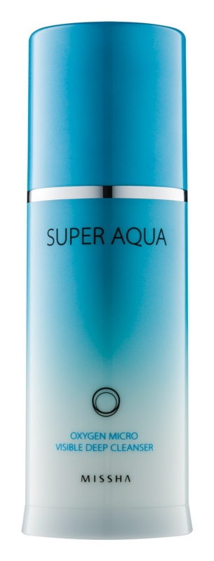 Missha Super Aqua Oxygen čisticí emulze s okysličujícími bublinkami