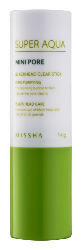 Missha Super Aqua Mini Pore čisticí tyčinka na černé tečky